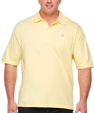 Izod Quick Dry Short Sleeve Knit Polo Shirt Big and Tall