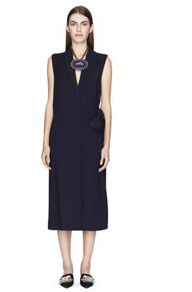 Lanvin Asymmetrical Sleeveless Coat