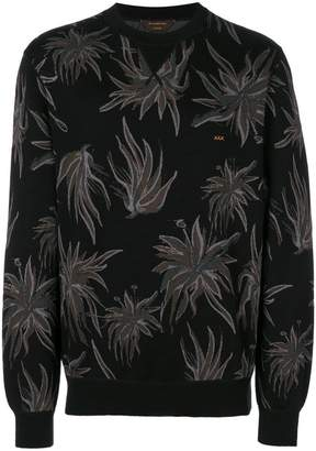 Ermenegildo Zegna Couture knitted flower jumper