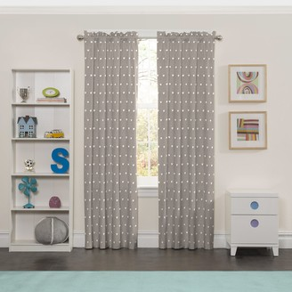 Eclipse Blackout 1-Panel MyScene Peanut Pals Thermaback Window Curtain