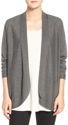 Eileen Fisher Blend Oval Cardigan $238 thestylecure.com
