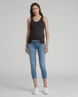 Rag & Bone Maternity denim crop