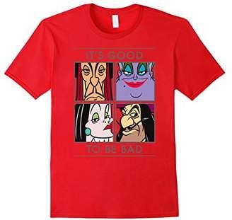 Disney Good to be Bad Villains T Shirt