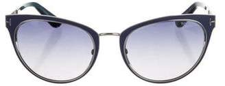 Tom Ford Nina Cat-Eye Sunglasses