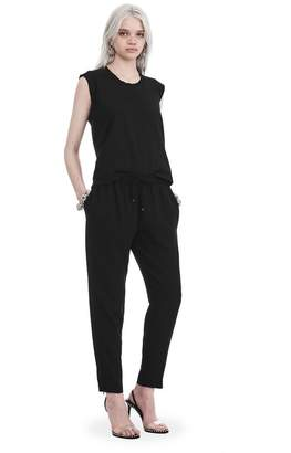 Alexander Wang SATIN CREPE WELDED PANTS PANTS