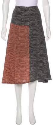 Derek Lam Silk Printed Skirt w/ Tags