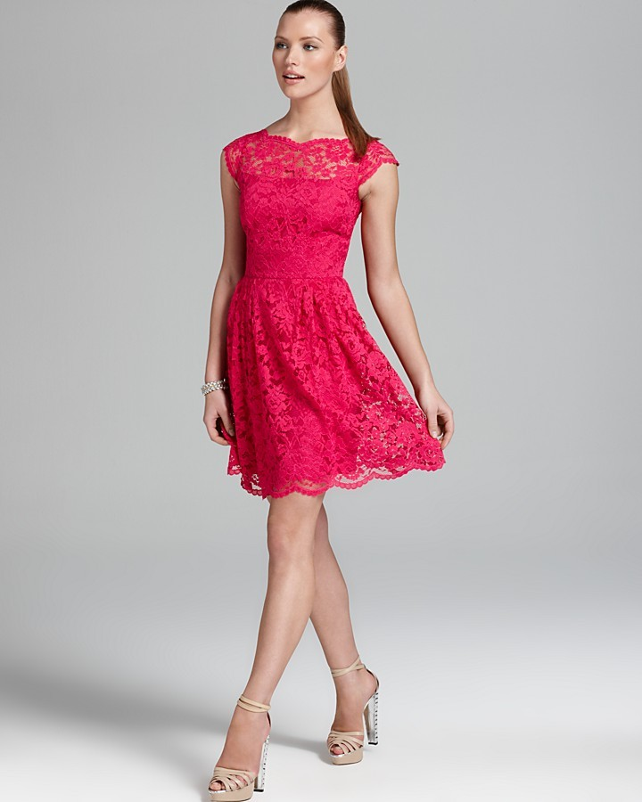 Cynthia Steffe Dress - Corded Lace