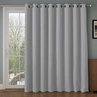 RHF Function Curtain-Wide Thermal Blackout Patio Door Curtain Panel