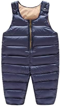 ZAMME Unisex Baby Winter Warm Thick Padded Pants