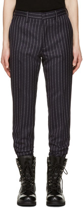 Alyx Navy fragment Edition Pinstripe Trousers $945 thestylecure.com