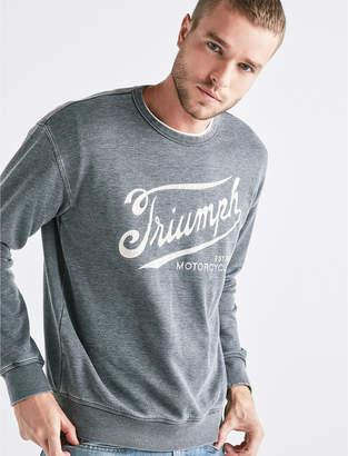 Lucky Brand TRIUMPH BURNOUT CREW