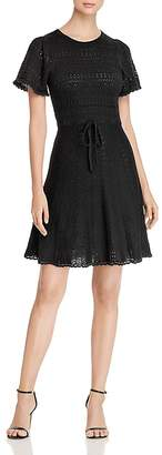 Kate Spade Pointelle-Knit Sweater Dress