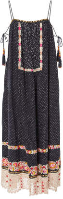 Ulla Johnson Nara Multi-Print Linen-Cotton Maxi Dress