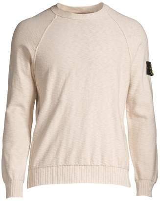 Stone Island Knit Raglan Sleeve Sweater