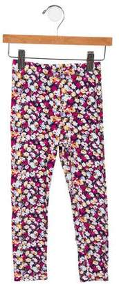 Imoga Girls' Floral Print Leggings