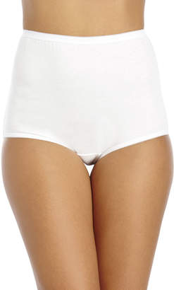 Vanity Fair High-Waisted Cotton Briefs