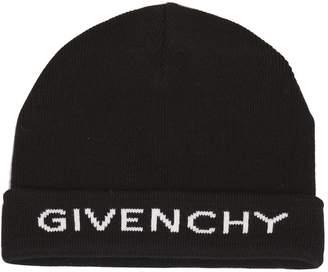 Givenchy Logo Beanie