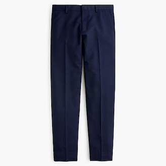 J.Crew Ludlow Slim-fit unstructured suit pant in English wool-cotton twill