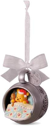 Hallmark Disney Winnie the Pooh Baby's First Christmas 2018 Keepsake Christmas Ornament