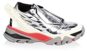 Calvin Klein Candessa Metallic Leather Chunky Sneakers