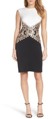 Women's Tadashi Sequin Knit Sheath Dress $328 thestylecure.com