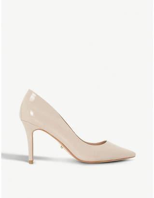 Dune Aurrora slip-on patent court shoes