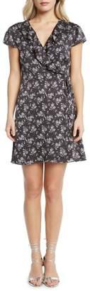 Willow & Clay Print Wrap Dress