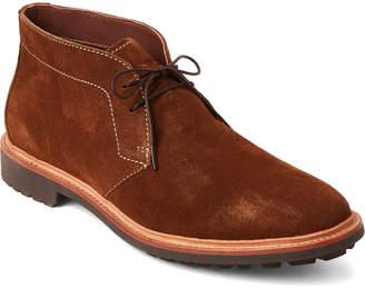 Fulton Warfield & Grand Rust Suede Chukka Boots