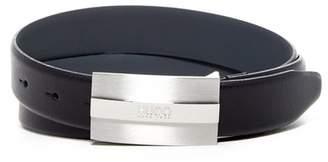 HUGO BOSS Baxter Leather Belt $95 thestylecure.com