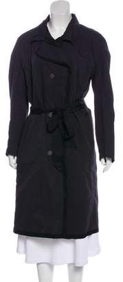 Lanvin Pointed Collar Long Coat