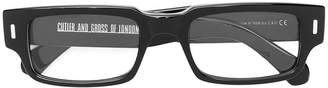 Cutler & Gross rectangular frames glasses
