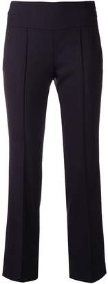 Incotex cropped fitted trousers