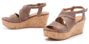 Coclico Melania Cork Platform Sandals