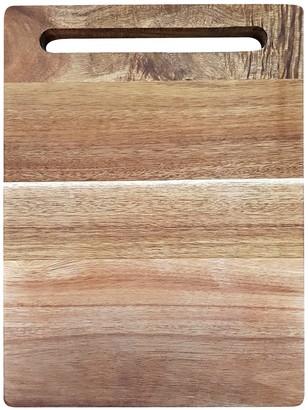 Baccarat Butchers Corner Acacia Rectangle Chopping Board 38cm