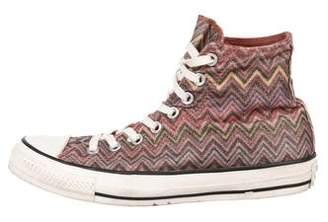 Converse Missoni x Chevron High-Top Sneakers