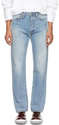 Acne Studios Blue Bla Konst 1996 Trash Jeans