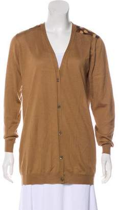 Prada Long Sleeve Cardigan