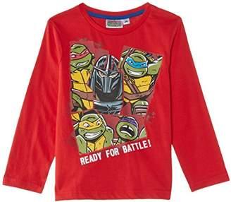 Nickelodeon Boys Teenage Ninja Mutant Hero Turtles NH1271 Long Sleeve Top