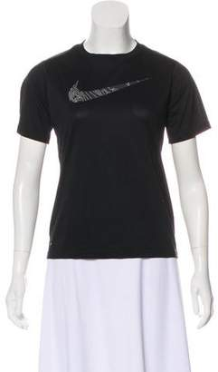 Nike Short Sleeve Graphic Print T-Shirt