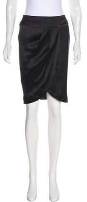 Chanel Silk Tulip Skirt