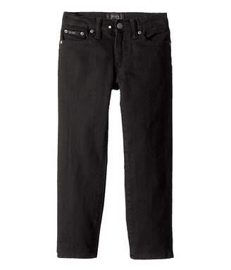 Polo Ralph Lauren Hampton Straight Stretch Jeans (Little Kids)