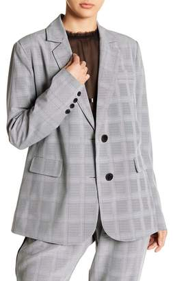 Walter W118 by Baker Andi Plaid Notch Lapel Blazer