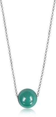 Antica Murrina Perleadi Turquoise Murano Glass Bead Chain Necklace $45 thestylecure.com