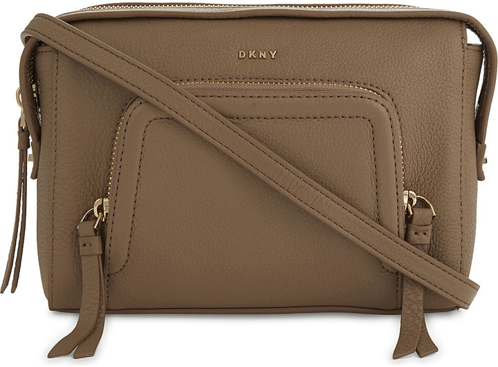 DKNY Dkny Chelsea Vintage grained leather cross-body bag