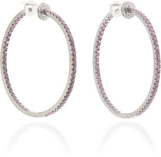 Nam Cho 18K Gold Ruby And Diamond Earrings