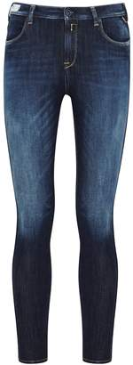 Replay Stella Hyperflex Dark Blue Skinny Jeans