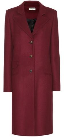 Balenciaga Balenciaga Wool-blend coat