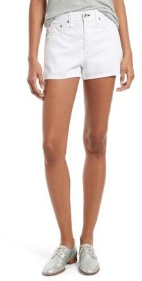Rag & Bone Women's Justine High Waist Denim Shorts
