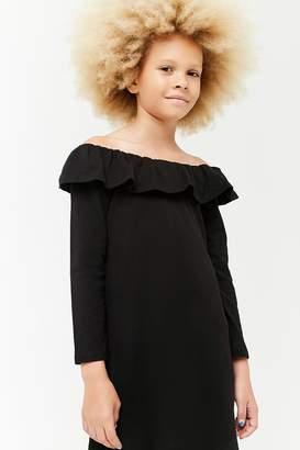 Forever 21 Girls Off-the-Shoulder Dress (Kids)