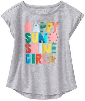 Crazy 8 Happy Sunshine Girl Tee